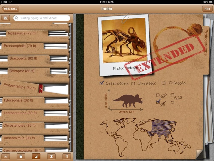 Dinosaur Book HD: iDinobook screenshot-4