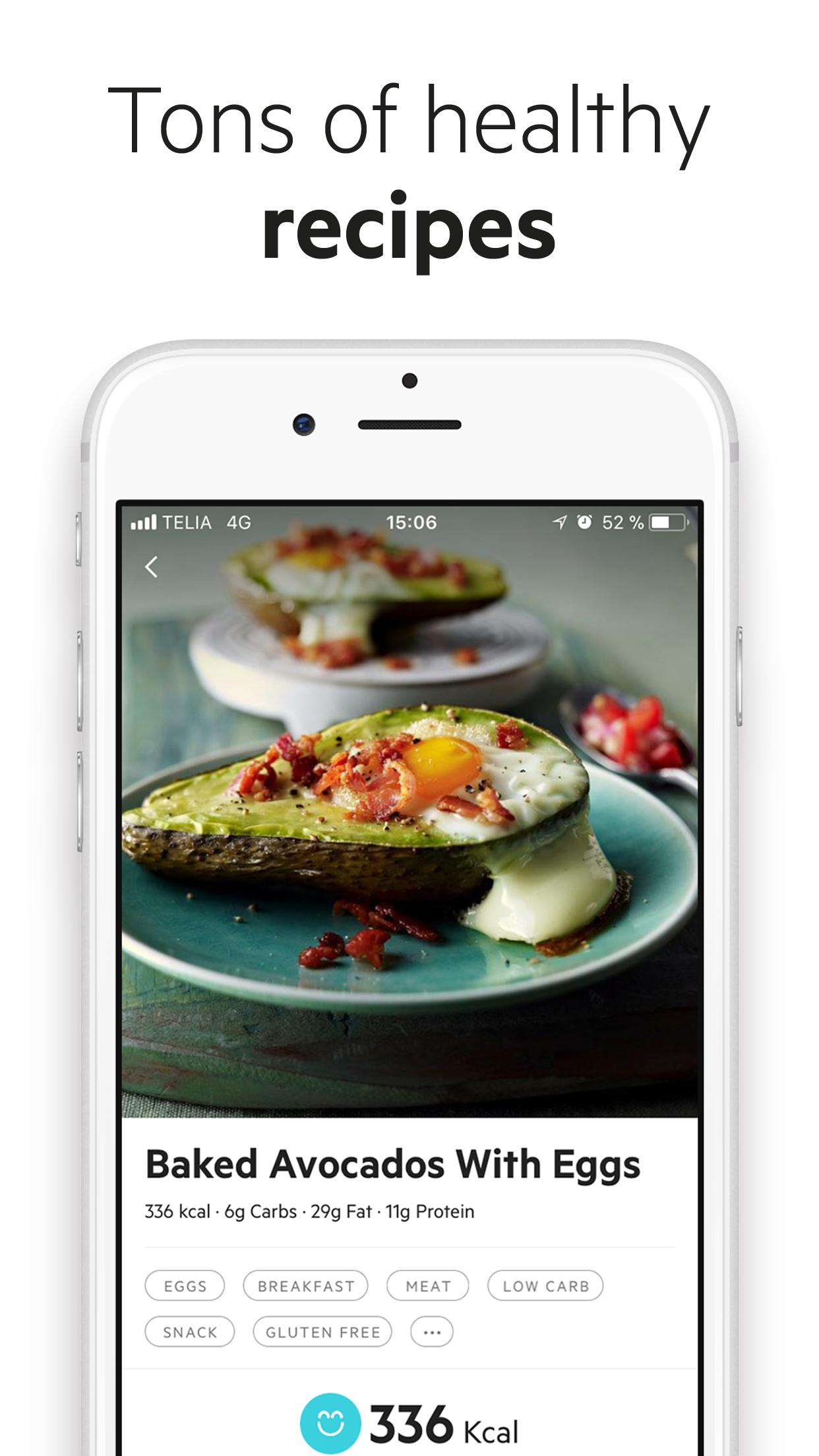 Lifesum: Diet & Food Tracker Screenshot
