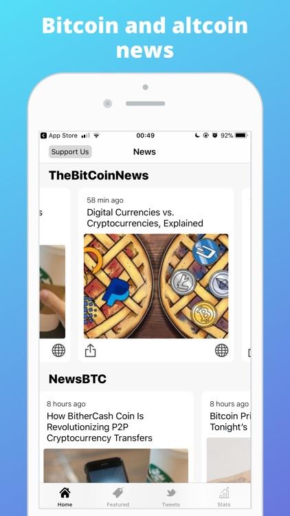 Bitcoin News   Charts & More