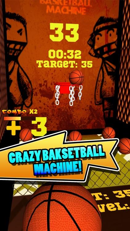 Crazy BasketBall Machine screenshot-0