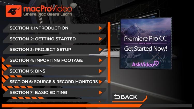 Start Course For Premiere Pro