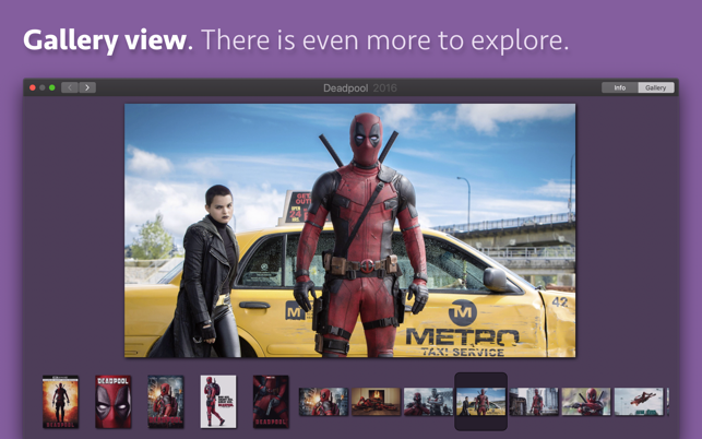 Movie Explorer on the Mac App Store