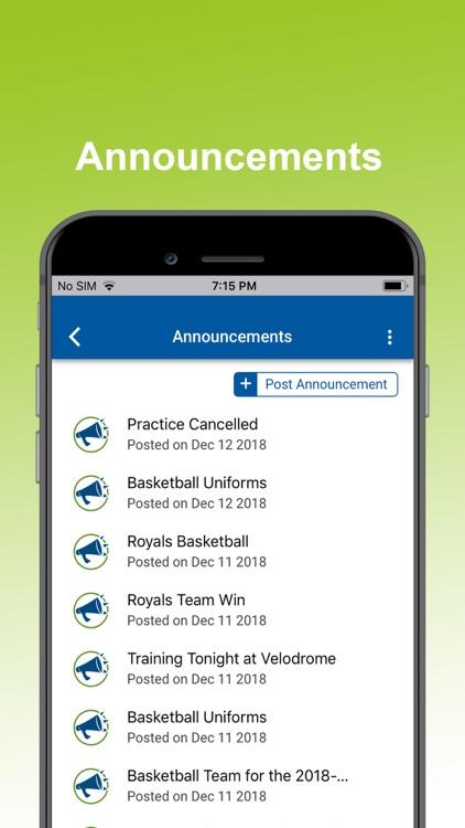 SportsPlus - Manage Sports screenshot-7