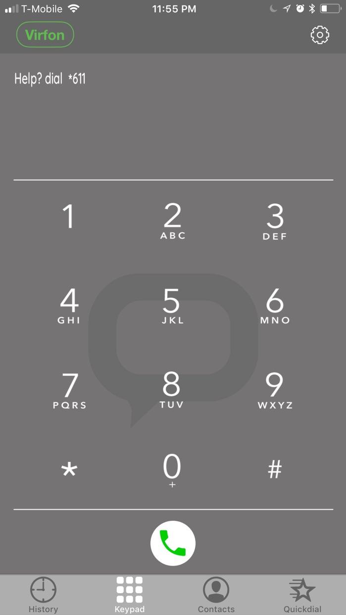 Virfon App Screenshot
