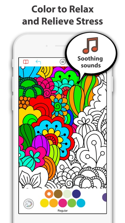 Coloring Book Pages for Adults screenshot-0