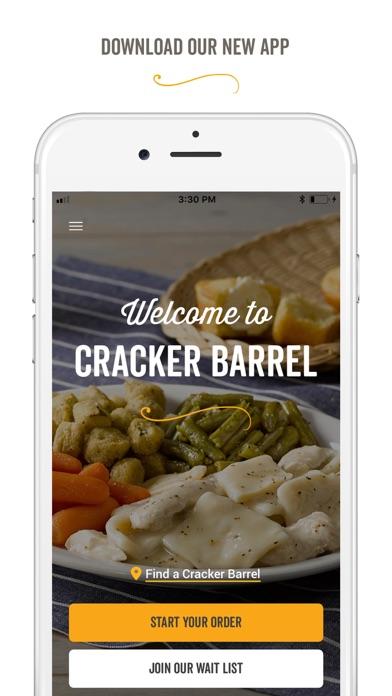 Cracker Barrel review screenshots