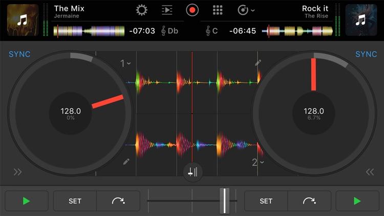 djay Pro for iPhone screenshot-0