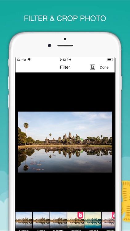 Photo Editor Add Flip Text Art