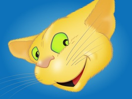'Yellow Cat emoji' is a collection of… cat emoji stickers