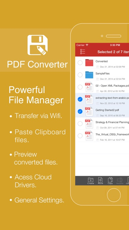 PDF Converter Pro by Flyingbee screenshot-2