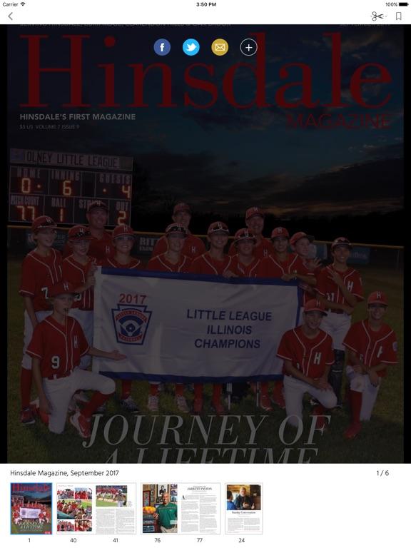 Hinsdale Magazine screenshot 7