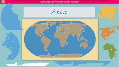 Continentes y Océanos screenshot 5