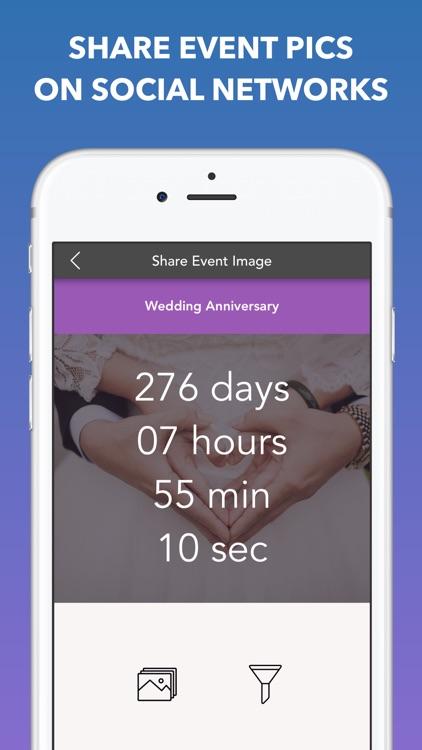 Countdown to Big Events screenshot-4