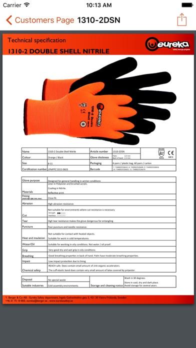Eureka Safety Gloves Screenshot