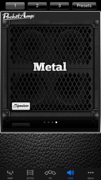 PocketAmp - Guitar Amp Effects screenshot-3