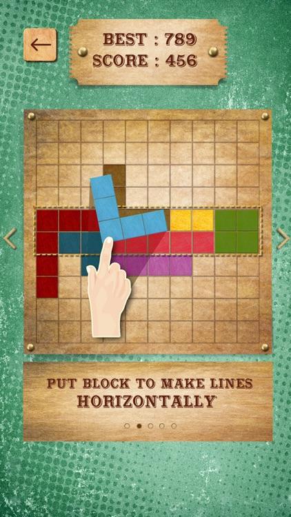 Retro Block Puzzle Game