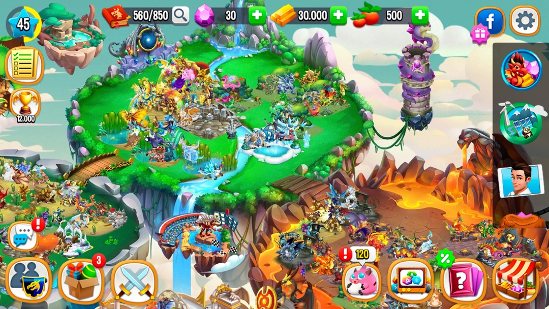 Dragon City Mobile Online Game Hack And Cheat Gehack Com