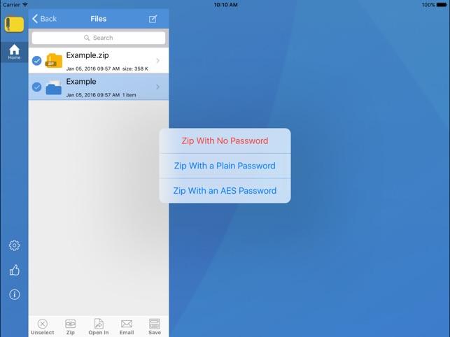 iZip - Zip Unzip Unrar im App Store