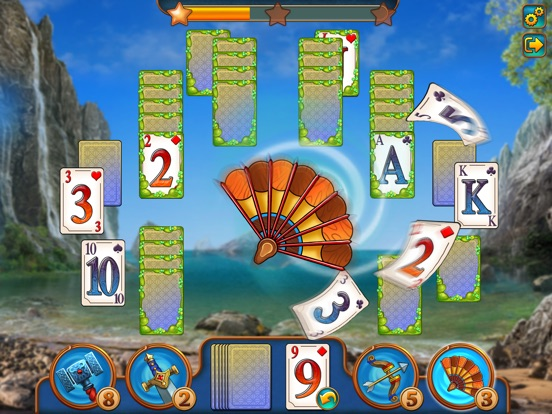 Magic Tri Peaks Solitaire Скриншоты9