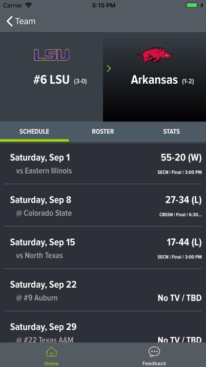 LSU Football 2018 screenshot-9