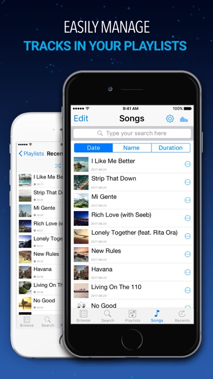 Music Player – Unlimited Mp3 Music & Videos Music screenshot-3