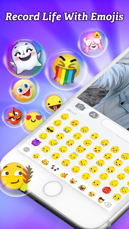 Tap Emoji——Swag EmojiKeyboard screenshot-0