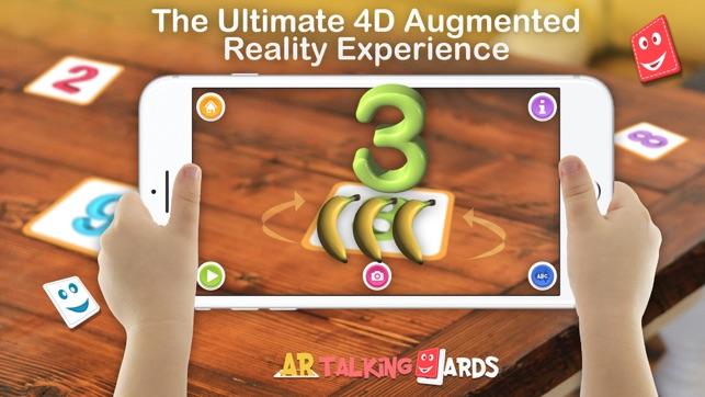 AR Talking Cards 4D
