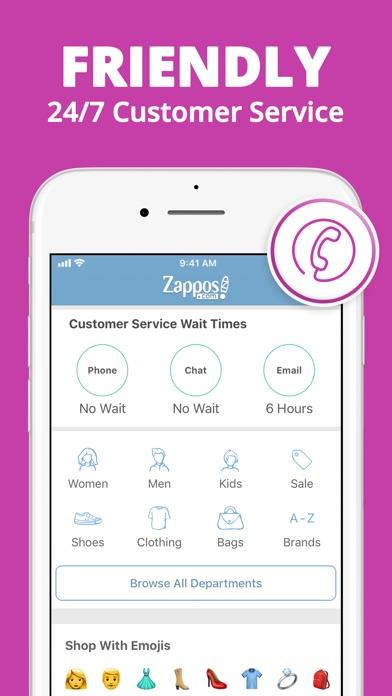 Zappos review screenshots