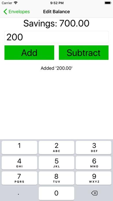 簡單的預算信封屏幕截圖3