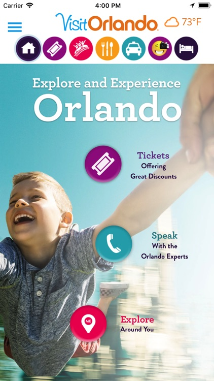 Visit Orlando Destination App screenshot-0