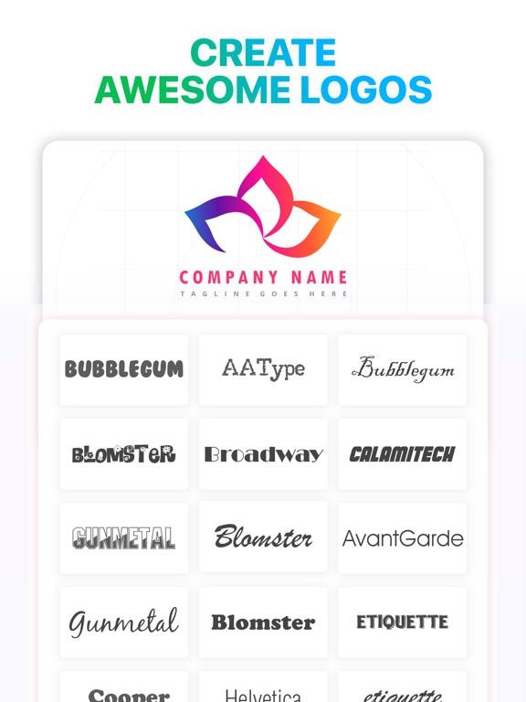 Logo Maker`-ipad-2