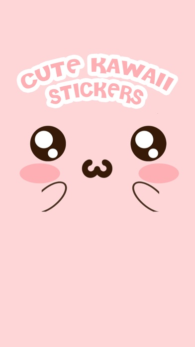 Cute Kawaii Stickers screenshot one