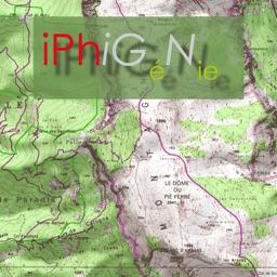 iPhiGéNie, maps of France