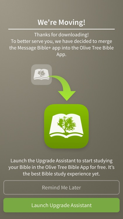 Message Bible by Olive Tree