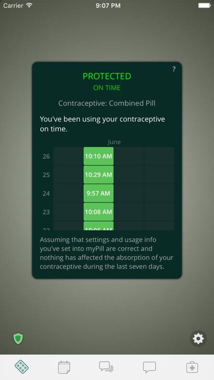 Birth Control Reminder myPill®