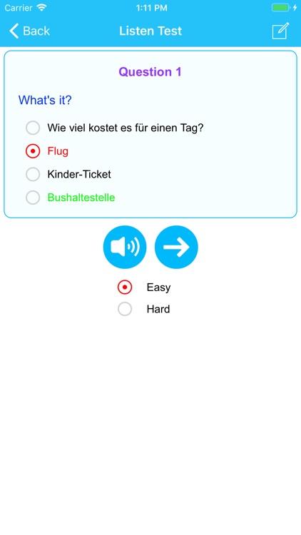 Learn German Language Offline screenshot-3