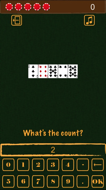Blackjack Card Counting Practice screenshot-2