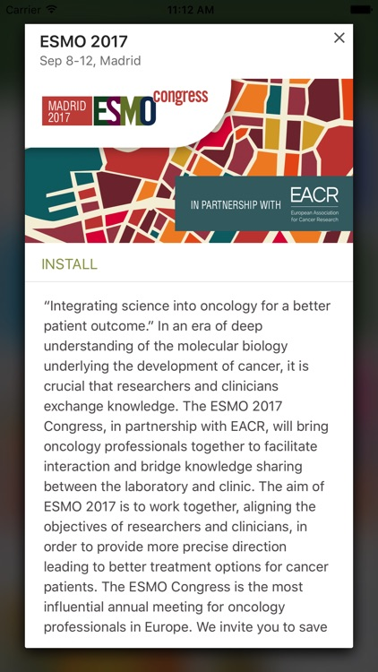 ESMO Events App screenshot-2