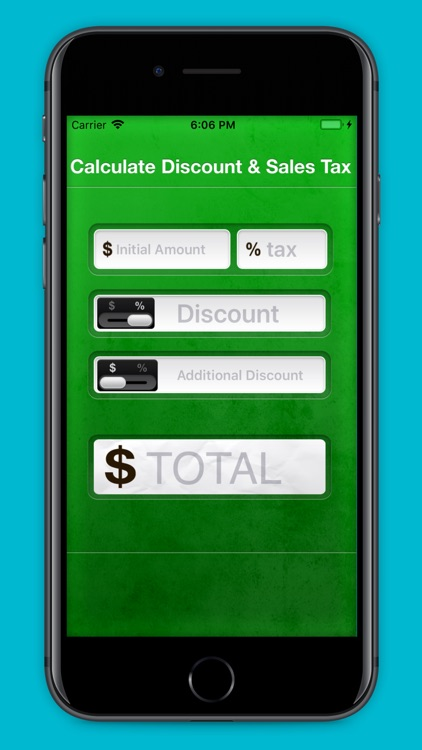 Calculate Discount & Sales Tax screenshot-4