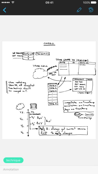 Screenshot #3 pour Carbo - Notes et dessins