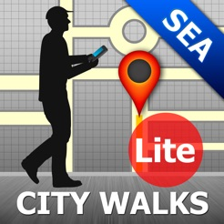 Seattle Map and Walks on the App Store