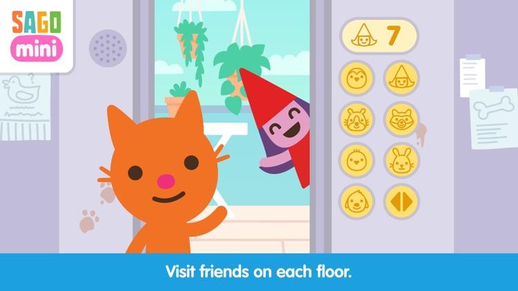 Sago Mini Apartment screenshot-0