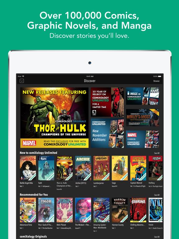 comiXology – Read Comics, Graphic Novels & Manga screenshot