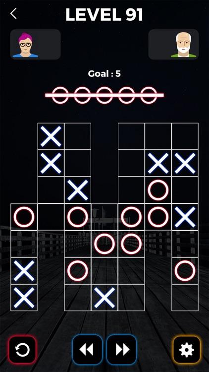 Tic Tac Toe Glowing screenshot-4