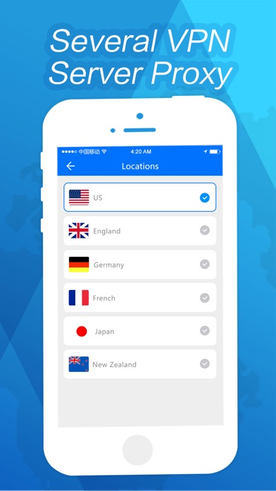 VPN - Fast VPN Proxy Browser Screenshot on iOS