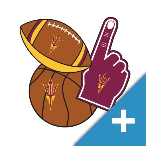 Arizona State Sun Devils PLUS Selfie Stickers