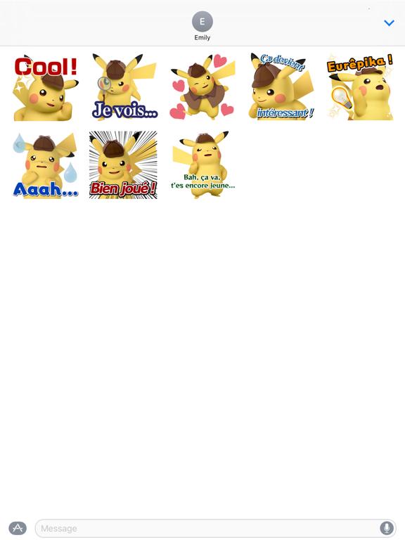 Screenshot #5 pour Autocollants Détective Pikachu