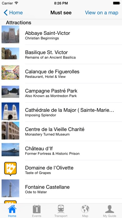 Marseille Travel Guide Offline screenshot-3
