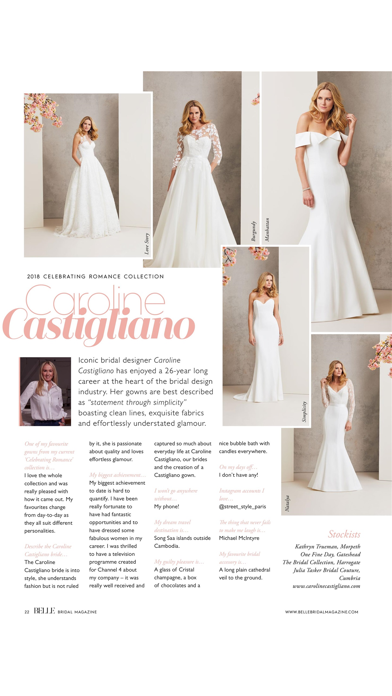 Belle Bridal magazine screenshot 3