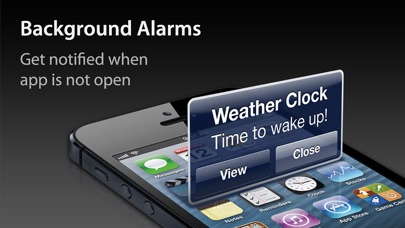 Screenshot for Weather Clock Pro in Jordan App Store